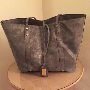 ALDO Sebok Grey Tote and Crossbody Handbag